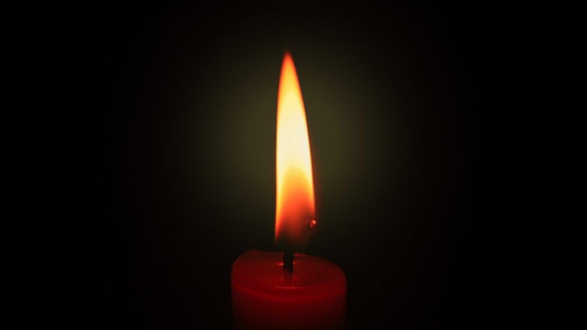 vedere văzând flacăra lumânării