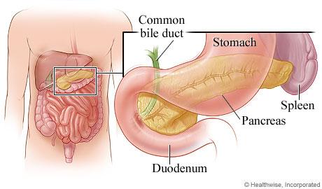 poate pancreasul să afecteze vederea