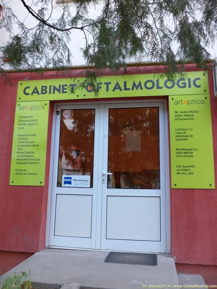 cabinet oftalmologic timisoara