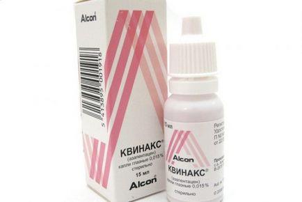 Picături oculare `Okapin`: recenzii ale medicilor despre acest medicament