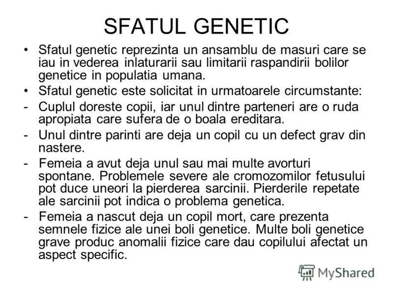 Boli genetice in oftalmologie