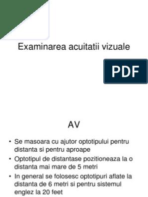 Acuitate Vizuala - definitie | scutere-galant.ro