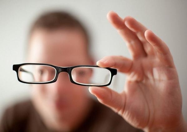 viziune normală și miopie
