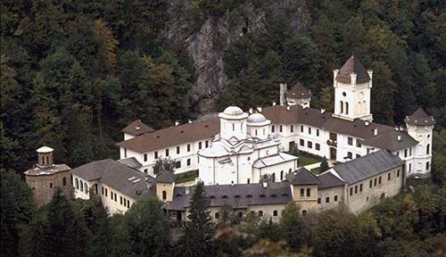 mănăstirea vindecând vederea
