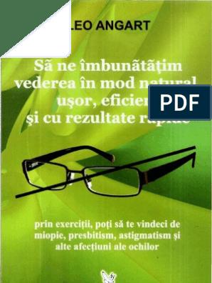 miopia este cel mai bun exercițiu broșură de vedere pentru antrenament