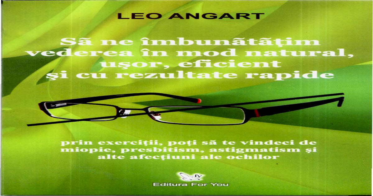deficiență de vedere optică mahmureală și vedere