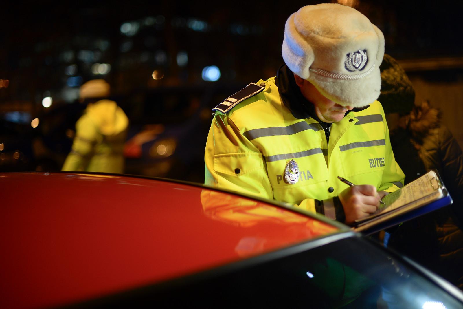 Control în trafic efectuat în Bucureşti împreună cu Poliţia Rutieră