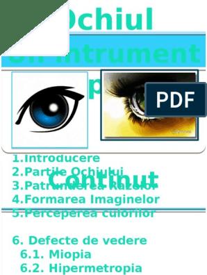 Semne de presiune crescută a ochilor, cauze și tratament