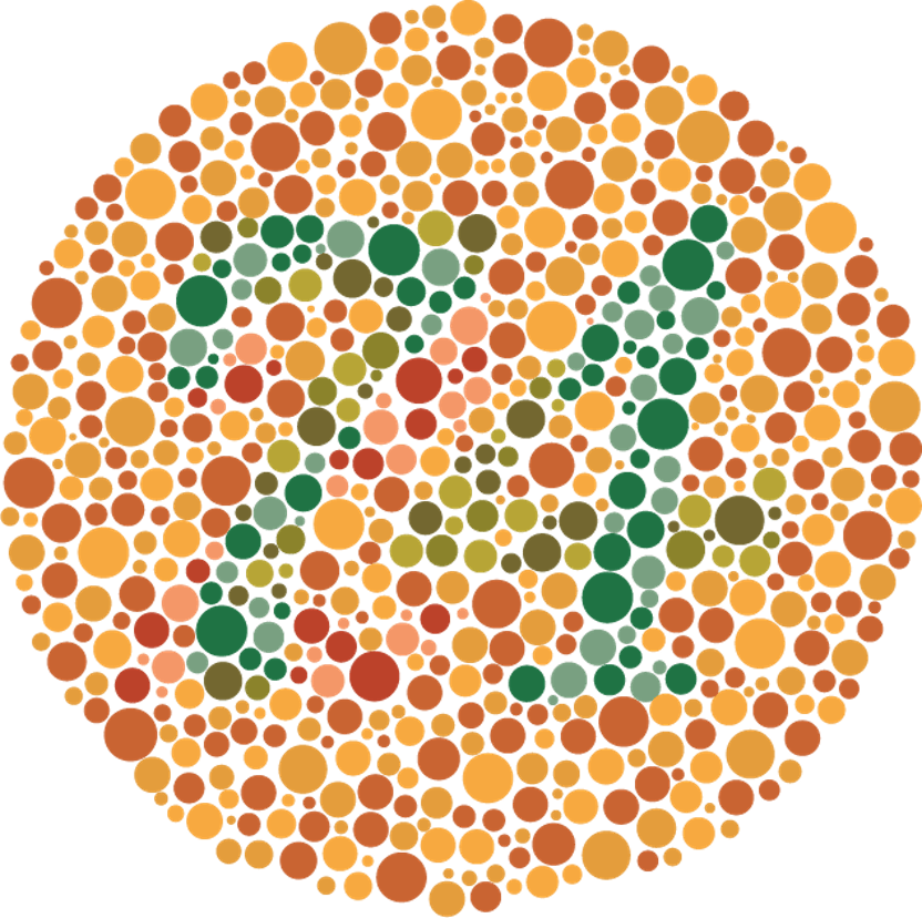 teste de vedere culori