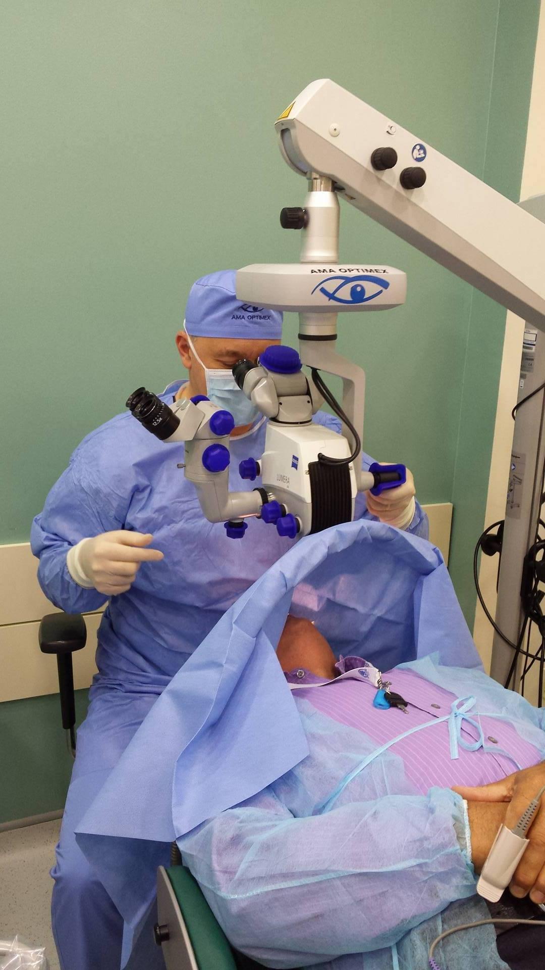chirurgie cu laser pentru restabilirea vederii