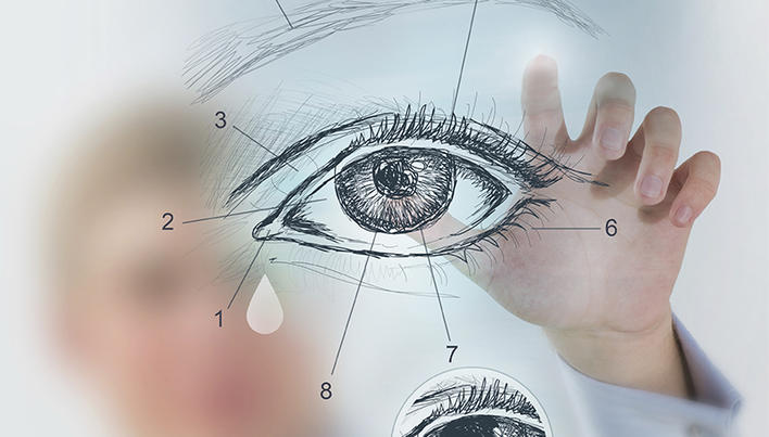 Ce picaturi vor ajuta la imbunatatirea vederii in lumina? - Leziuni -
