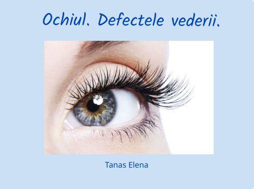 picături pentru ochi la un test ocular transcrieri pentru vedere