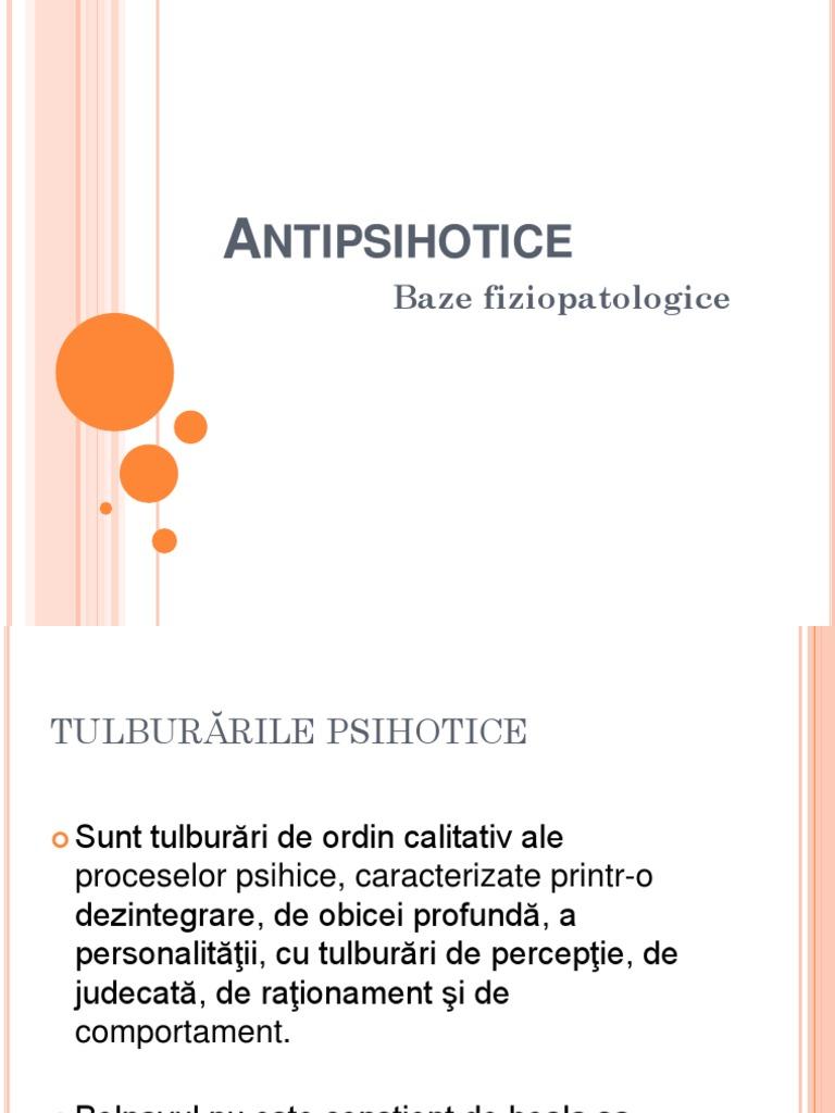 antipsihotice și vizuale