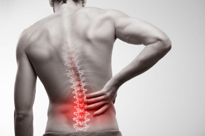 boli de spate și vedere