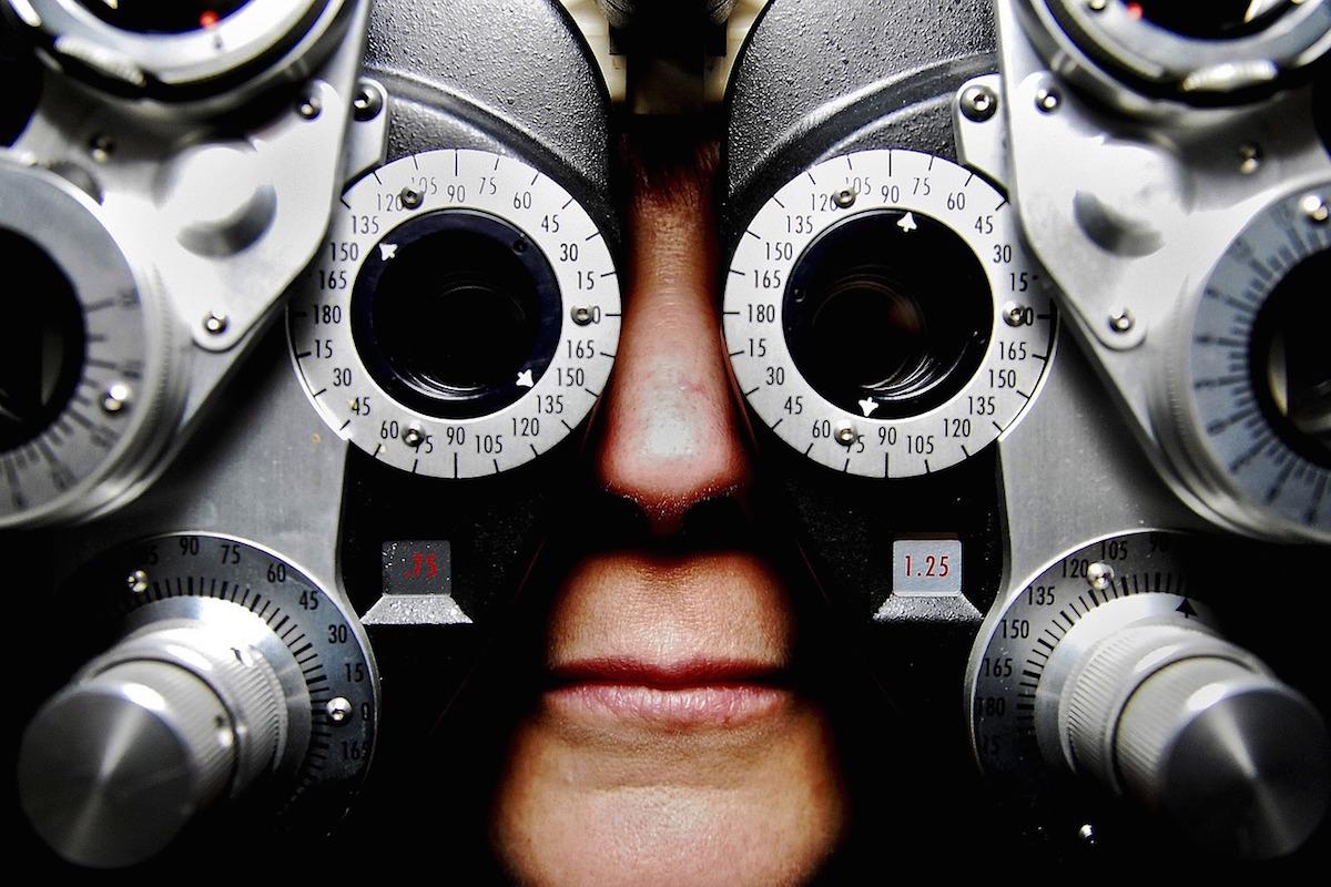 test vizual fundus