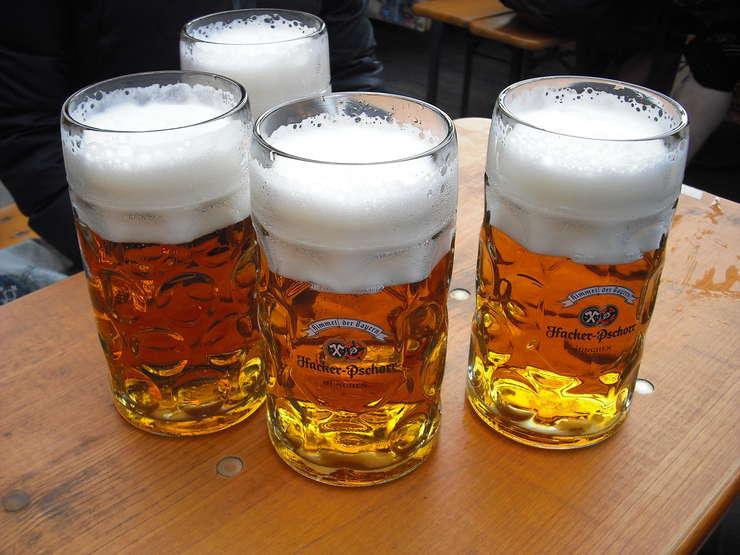 afectează berea la vedere