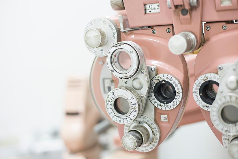 tabel complet pentru examinarea ochilor