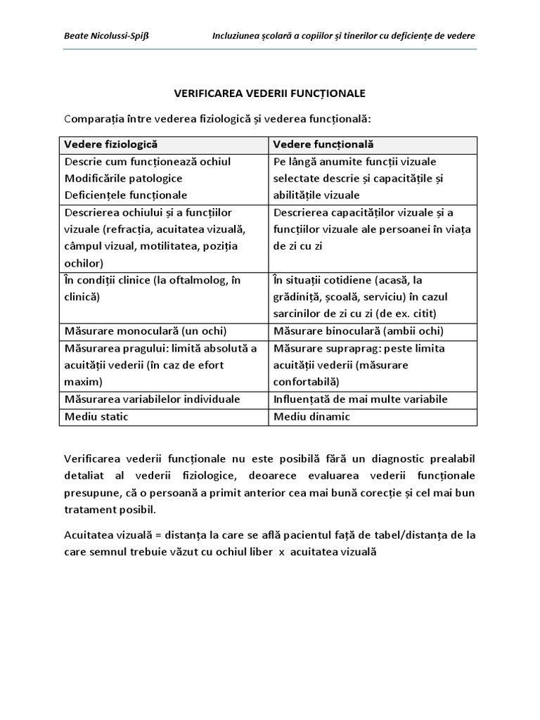 tabele de tratament vizual miopia la hipermetropia tinerilor