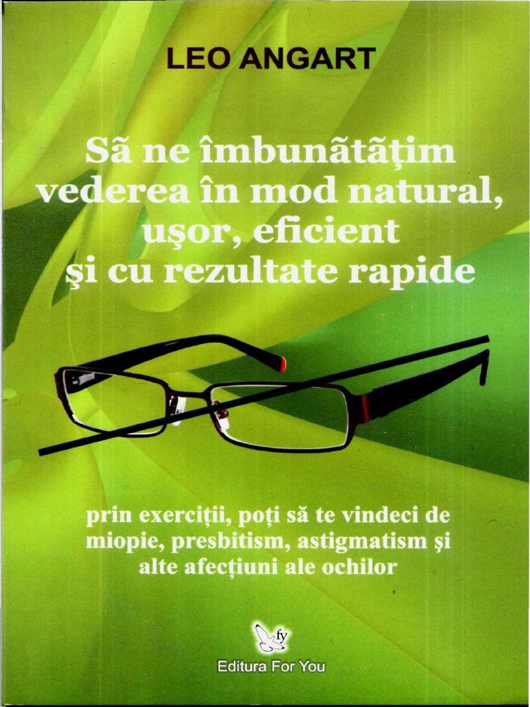 Miopie,hipermetropie,astigmatism,prezbitism,renunta la ochelari si lentile ,natural si fara risc !