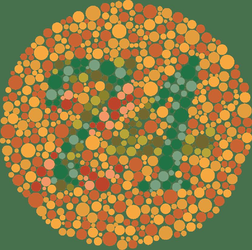 Daltonismul, discromatopsia și discromatopsia totală