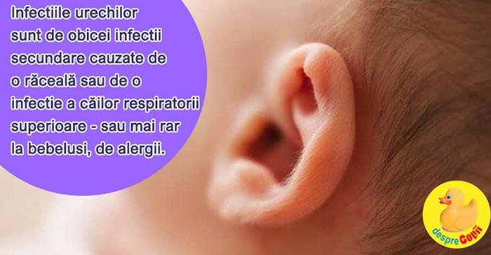 Infecția urechii (urechea medie) - scutere-galant.ro