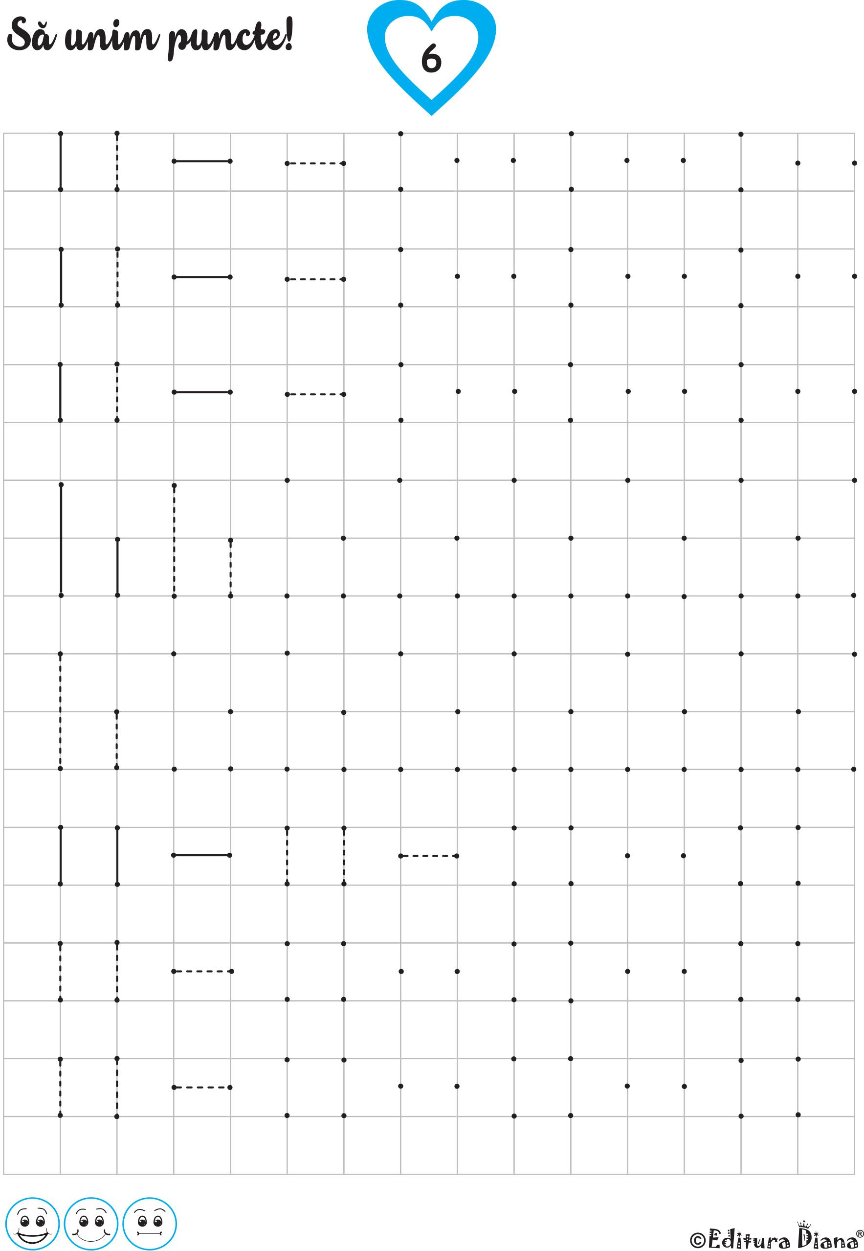 pătrate de exerciții vizuale