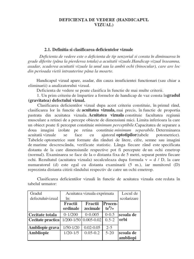 DEFICIENŢA DE VEDERE.docx