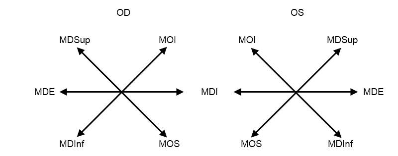 diagrama testelor oculare test de vedere bunica shosho