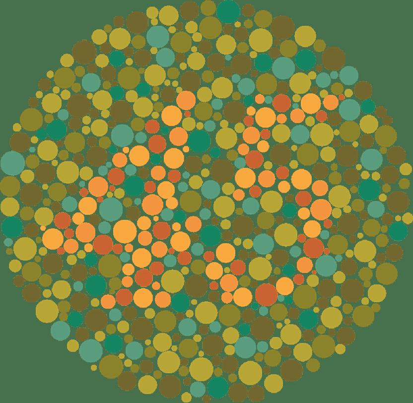 test de vedere pentru daltonism mandale pentru a îmbunătăți vederea