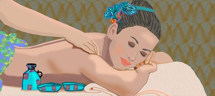 masaj pentru a îmbunătăți viziunea video