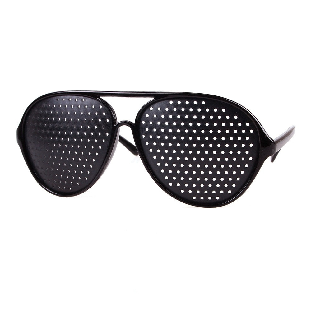 Ochelarii în găuri ajută la refacerea vederii
