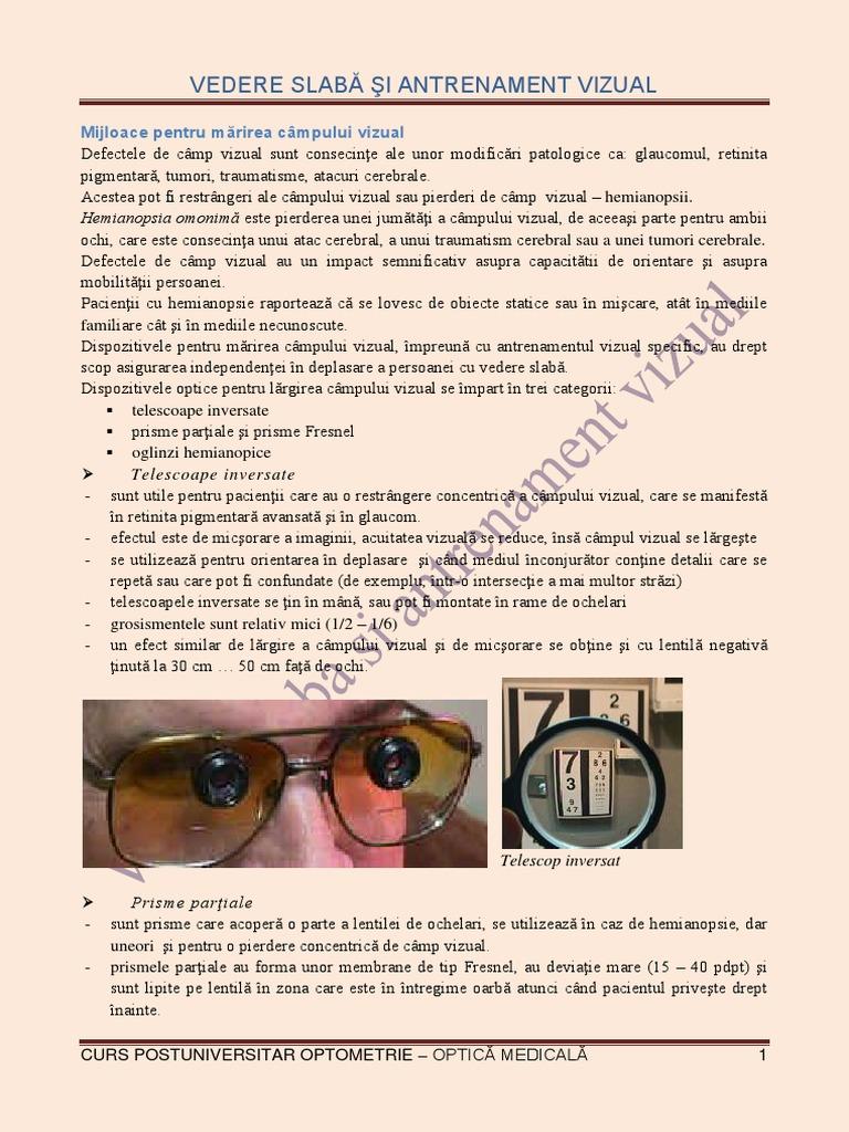 mercurul și efectul acestuia asupra vederii