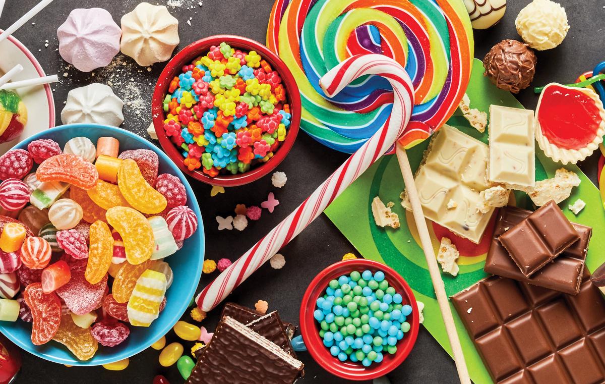 dulciuri și vedere