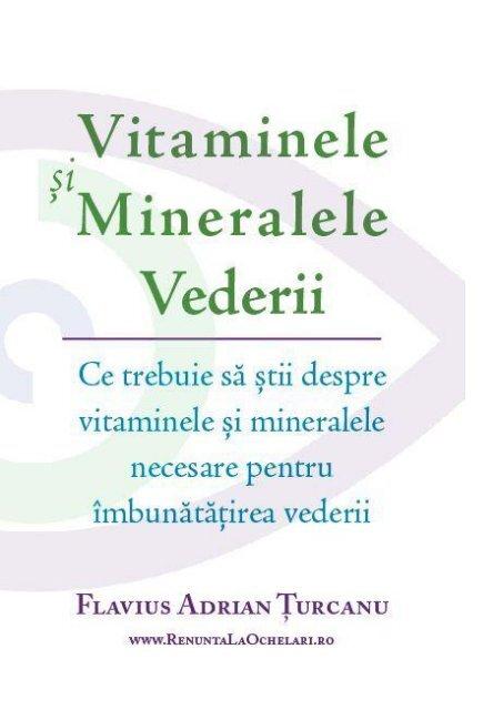 ce vitamine sunt pentru vederea slabă