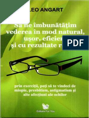 Cum sa-ti imbunatatesti vederea in mod natural? | Stiluri de viață | scutere-galant.ro
