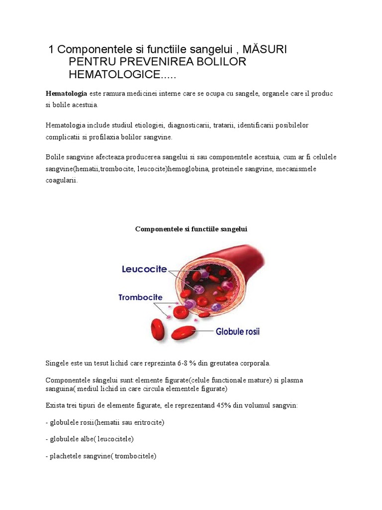hemoglobina afectează vederea