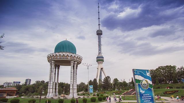 vedere Tașkent din vedere ceea ce ajută